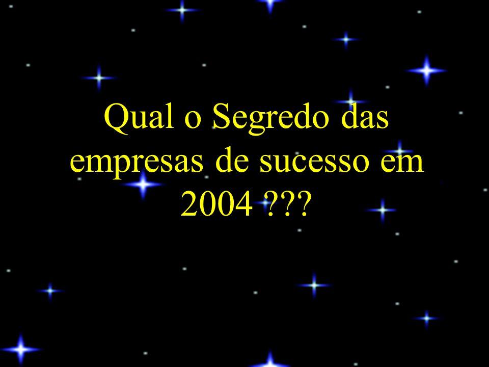 Algumas empresas tiveram sucesso em 2004 Porquê.......