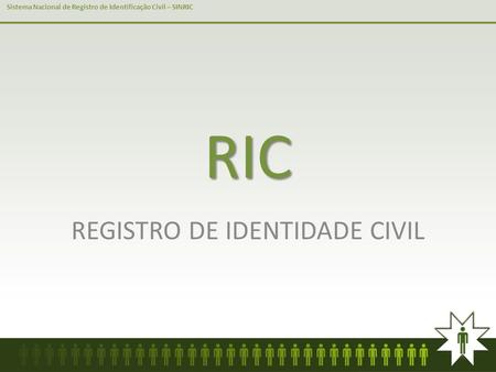 REGISTRO DE IDENTIDADE CIVIL