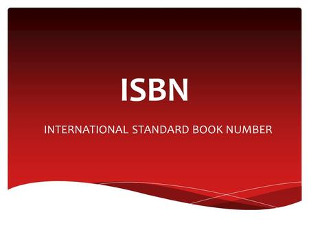 INTERNATIONAL STANDARD BOOK NUMBER ISBN. EQUIPE  Carla Carolina  Marina Moreira  Phillipe D. Camargo  Thiago Glober.