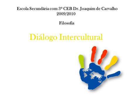 Diálogo Intercultural