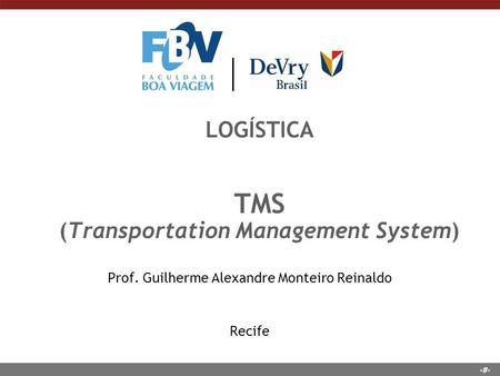 LOGÍSTICA TMS (Transportation Management System)