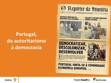 Portugal, do autoritarismo à democracia