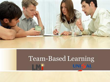 Team-Based Learning.