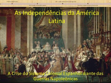 As Independências da América Latina