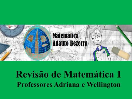 Professores Adriana e Wellington