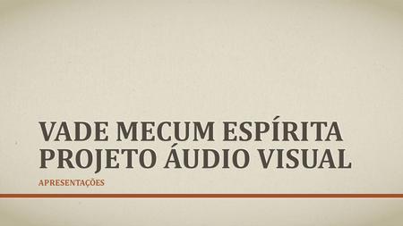 PDF MECUM VADE ESPIRITA