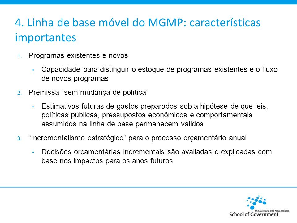 4.Custos no âmbito das etapas do MGMP Etapa 1.