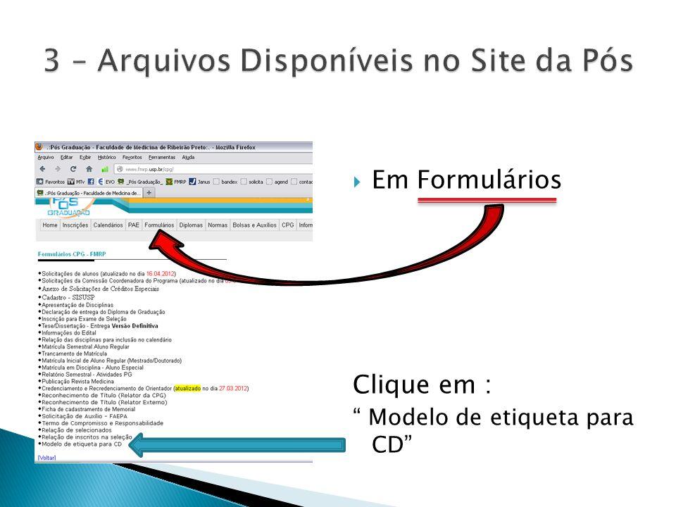  Faça o download: O arquivo contém: 1-Exemplo-CD (apenas uma imagem ) 2-Instruções para [...] ( um texto explicativo) 3-Logo ( pode ser usado para fazer um modelo em outro programa ) 4-modelo em branco ( Este arquivo só é aberto com o programa Assistente Pimaco + )