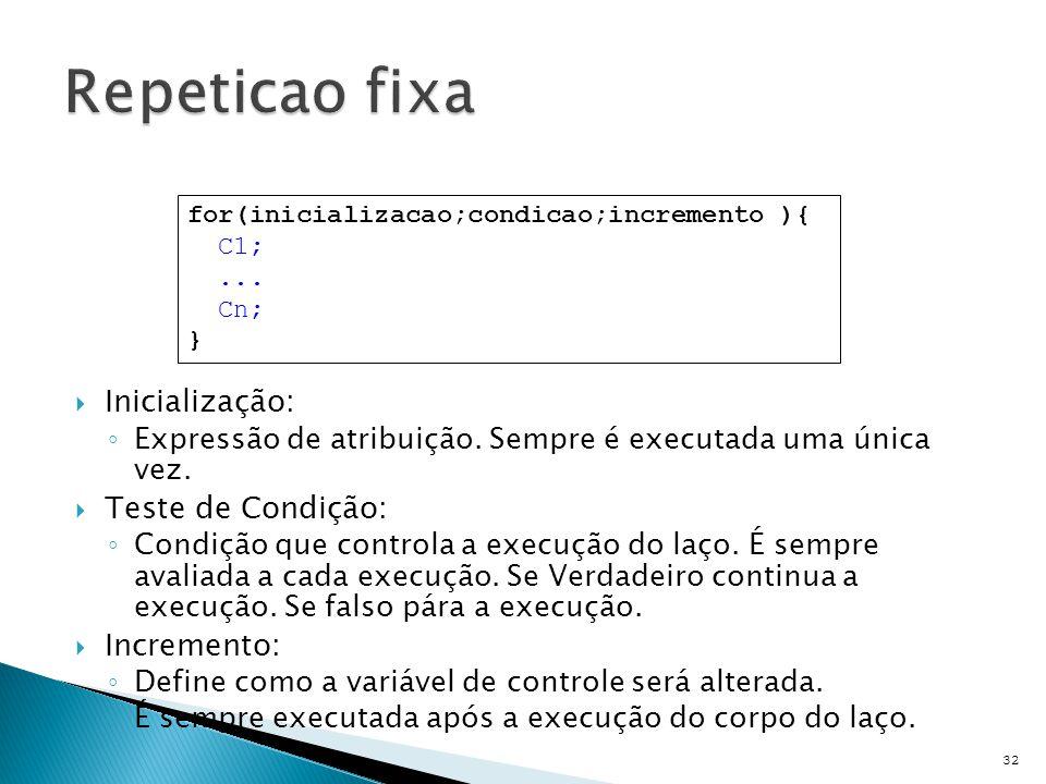 33 int i; for(i= 0;i < 10;i++){ printf( %d ,i); } printf( %d ,i); i = 1 i = 1 + 2 i = 9 i = 11 int i; for(i= 0;i < 10;i=i+2){ printf( %d ,i); } i = 1 printf( %d ,i); i = 1 + 1