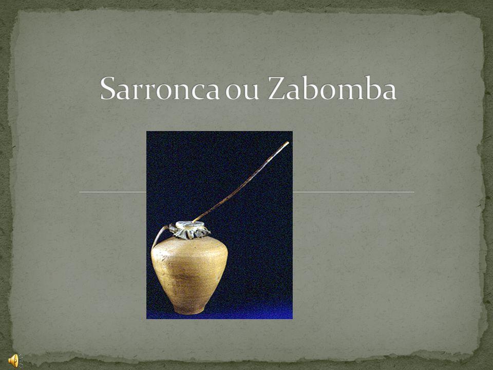 A Sarronca ou Zabomba, é originária do Alentejo, mas as suas origens mais profundas, estão enraizadas em África, e julga-se que tenham, sido trazidas pelos descobridores portugueses, no séc.