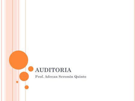 Prof. Adrean Scremin Quinto