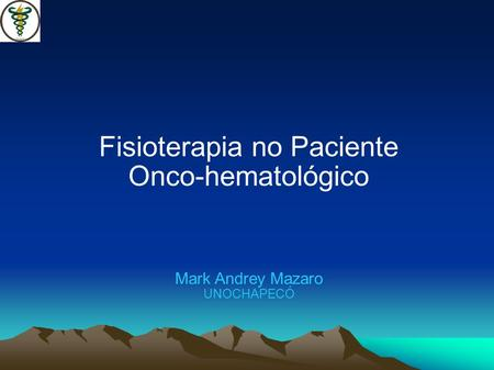 Fisioterapia no Paciente