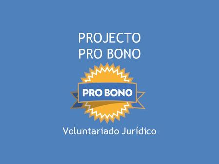 Voluntariado Jurídico