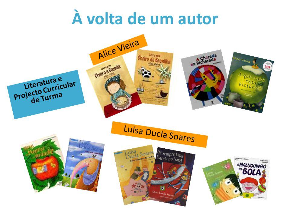 À volta de um ilustrador Danuta Wojciechowska André Letria Rui Castro Literatura e Projecto Curricular de Turma