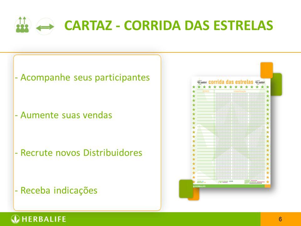 7 CARTAZ – PRODUTOS HERBALIFE Desperte o interesse dos participantes em conhecer toda a linha de produtos Herbalife.