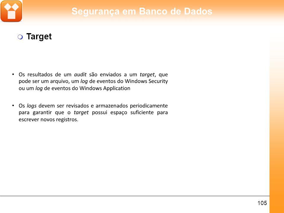 Segurança em Banco de Dados 106 m Uso do Sql Server Audit