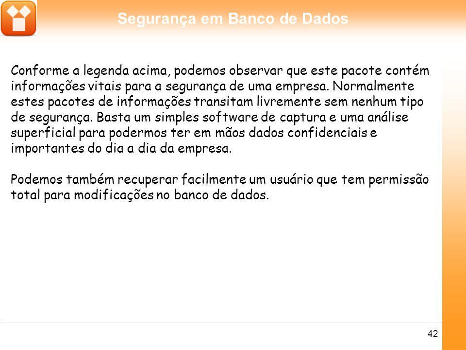 Segurança em Banco de Dados 43 Ativando criptografia no DB2