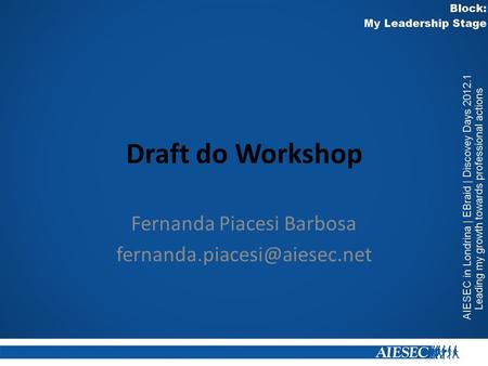 Draft do Workshop Fernanda Piacesi Barbosa