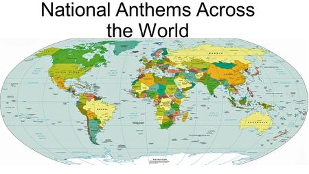 National Anthems Across the World. March of the Volunteers Composed by Nie Er, written by Tian Han in 1934Nie ErTian Han Popular story: Tian wrote after.