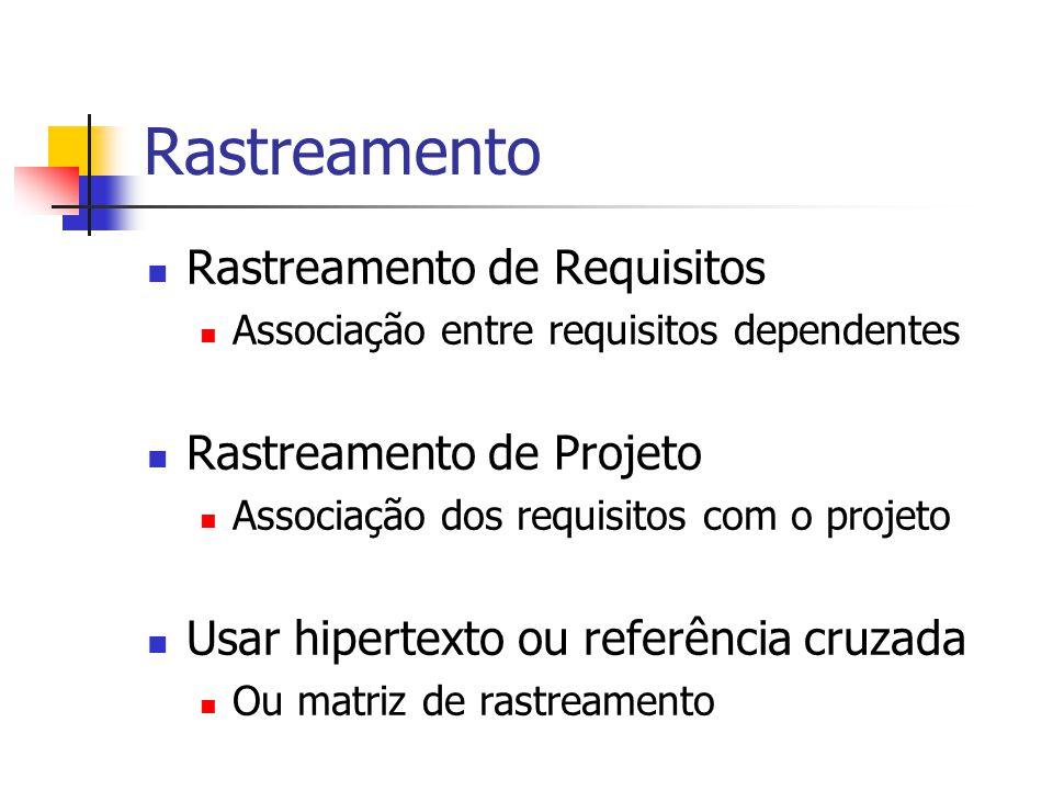 Estrutura de um Documento de Requisitos 1.Introdução 2.