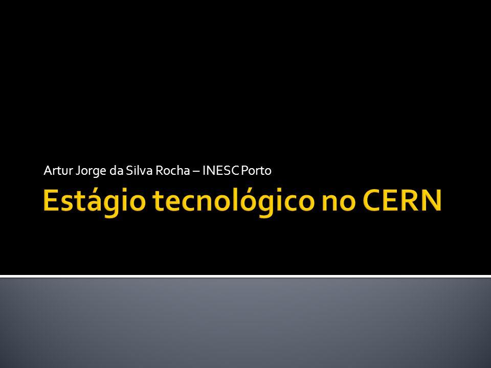  Local:  CERN – European Laboratory for High Energy Physics  Departamento:  World Wide Web Office  Divisão:  IT Division  Data de início:  Outubro de 2006  Fim:  Dezembro de 2007 4/30/20102Estágios tecnológicos no CERN, ESA e ESO – Casos de Sucesso