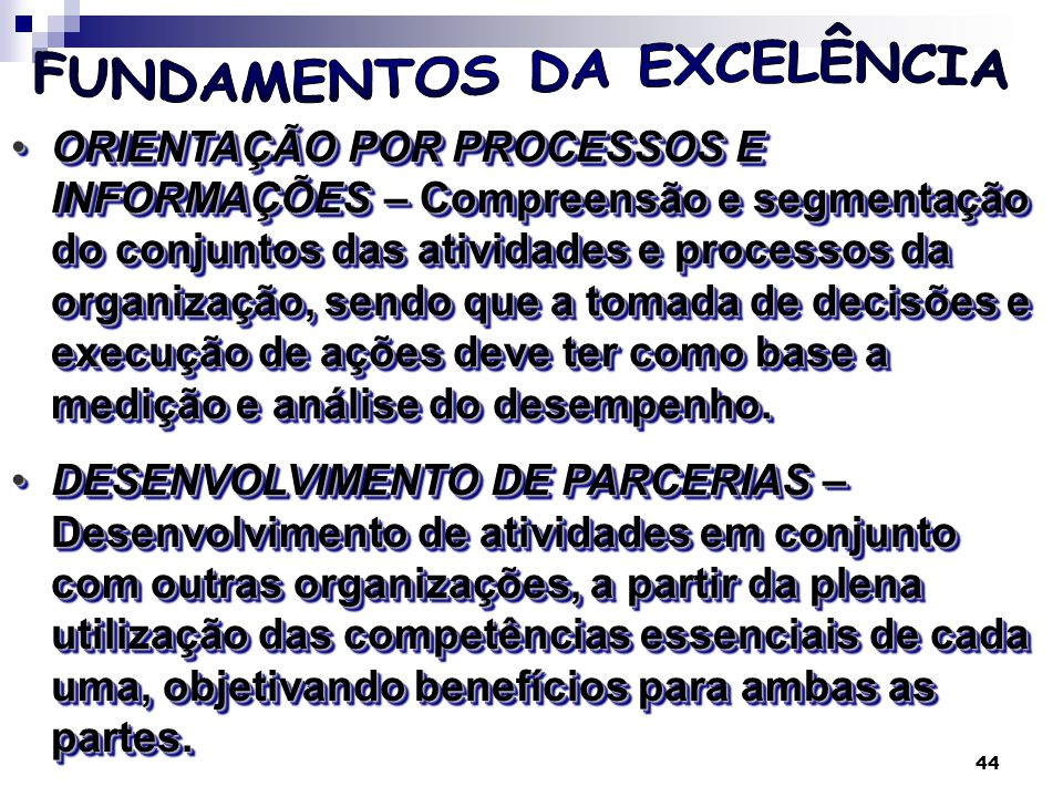 45 Processos de Negócio e Integração dos Sistemas - Visão Tradicional Fonte: Kenneth C.