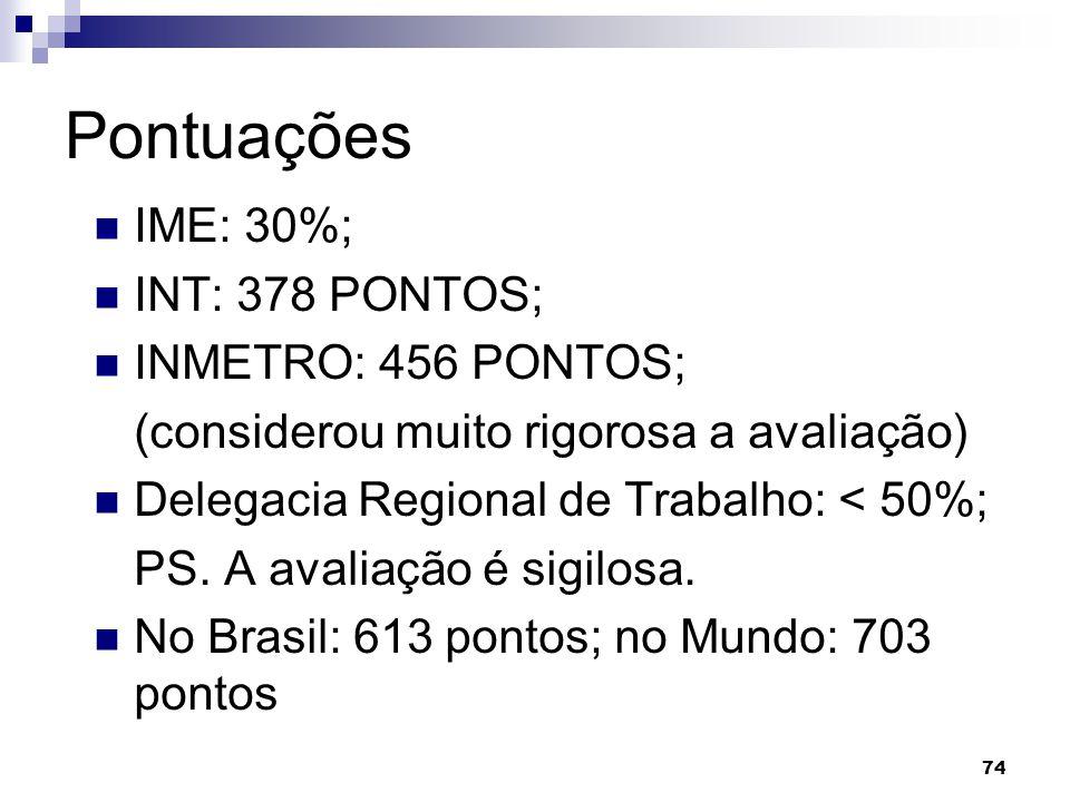 75 Organizações que adotam os critérios de excelência No Brasil: Petrobras; Comlurb; Serasa; etc.