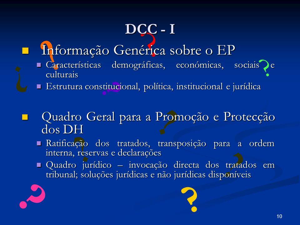 10 .DCC - I .