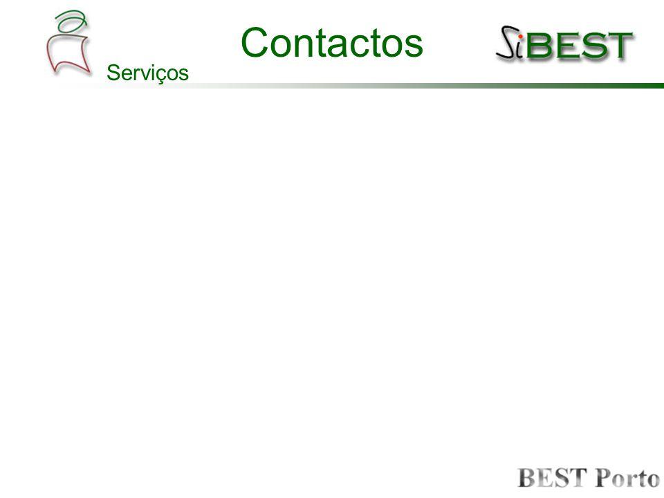 Contactos Funcionalidades –Edição (todos os sócios efectivos) –Pesquisa –Exportação Funcionalidades