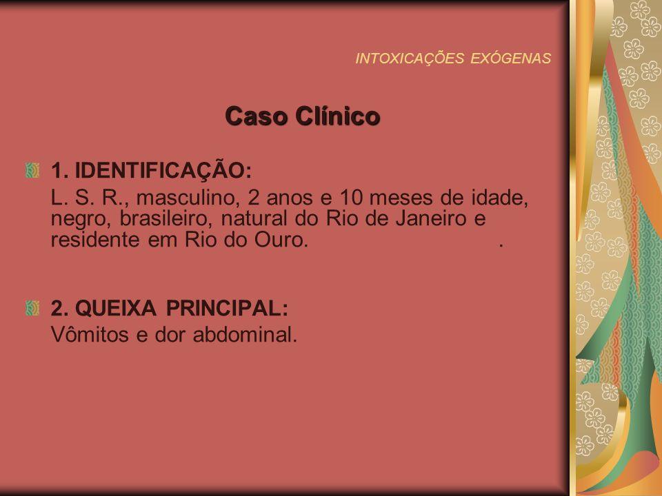 INTOXICAÇÕES EXÓGENAS 3.
