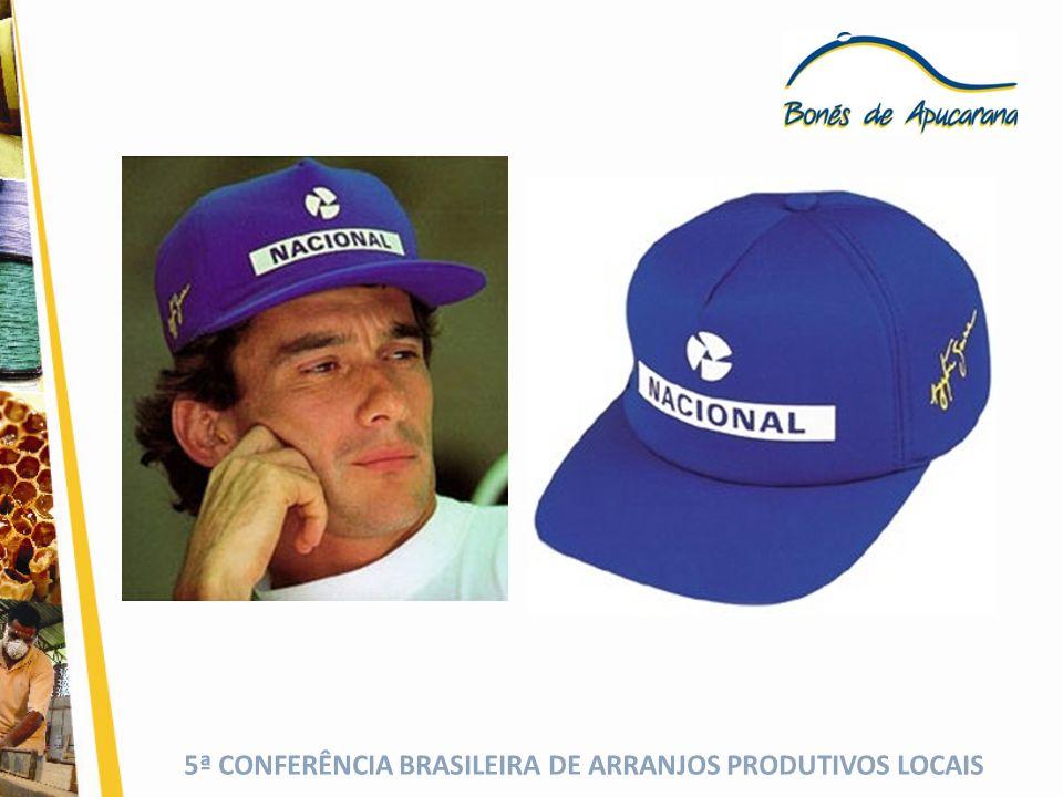 ENTRE 1994 E 1996 HOUVE A MUDANÇA DE PARADIGMA NA FABRICAÇÃO DE BONÉS EM APUCARANA