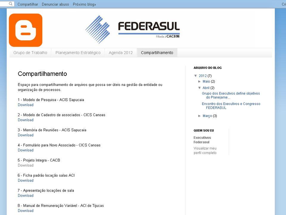 PLANO DE AÇÃO ASSOCIATIVISMO - Criação de uma campanha para padronização da apresentação dos temas e sensibilização de leigos.