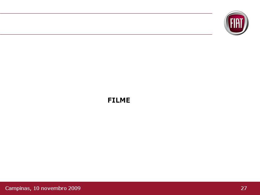 FILME 27Campinas, 10 novembro 2009