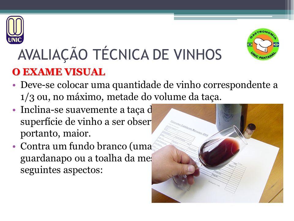 AVALIAÇÃO TÉCNICA DE VINHOS 1.