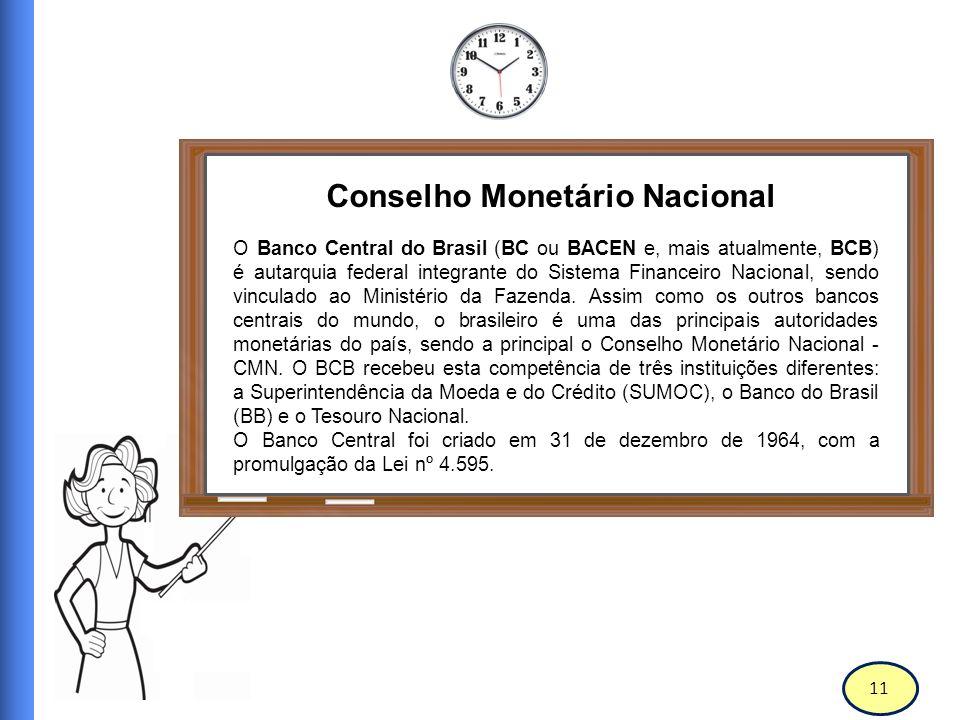 12 Banco Central do Brasil MISSÃO Garantir ao cidadão o direito de ter a sua manifestação sobre os serviços prestados pelo Banco Central do Brasil apreciada e atuar no sentido de melhorar a qualidade dos serviços oferecidos pela instituição.