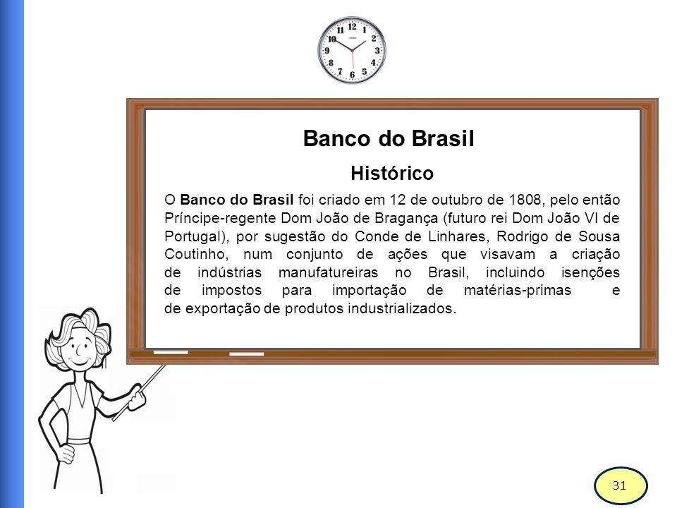 32 Banco do Brasil MISSÃO Ser um banco competitivo e rentável, promover o desenvolvimento sustentável do Brasil e cumprir sua função pública com eficiência.
