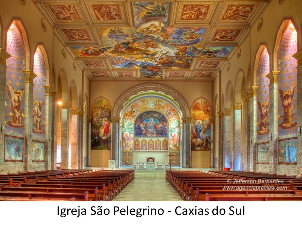 Pinturas do artista ítalo- brasileiro Aldo Locatelli