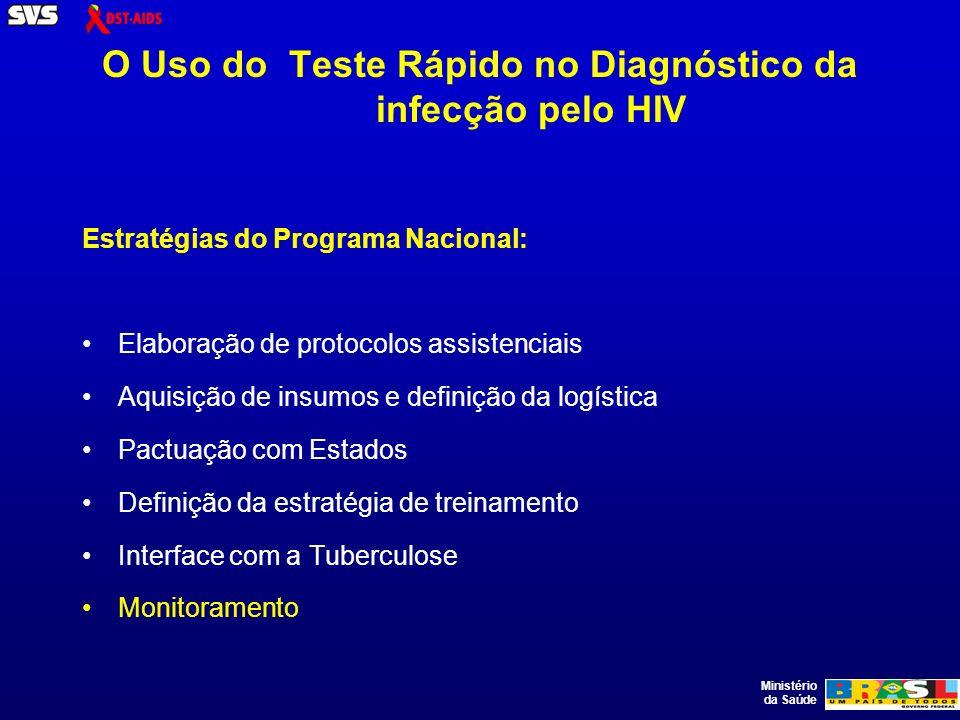 Ministério da Saúde Cenário epidemiológico De acordo com as estimativas da OMS, o Brasil é o país com o maior número de casos de tuberculose na América Latina, com 96.000 casos novos estimados a cada ano (OMS, 2007).