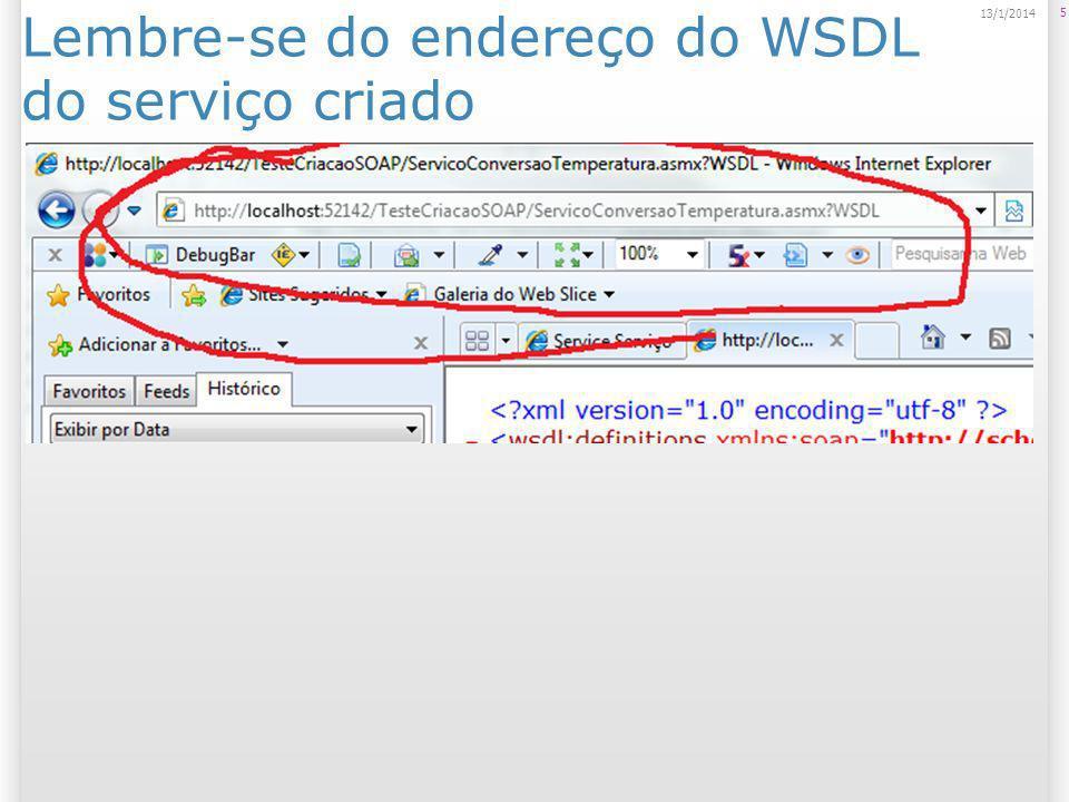 Criar um novo web site 6 14/1/2014