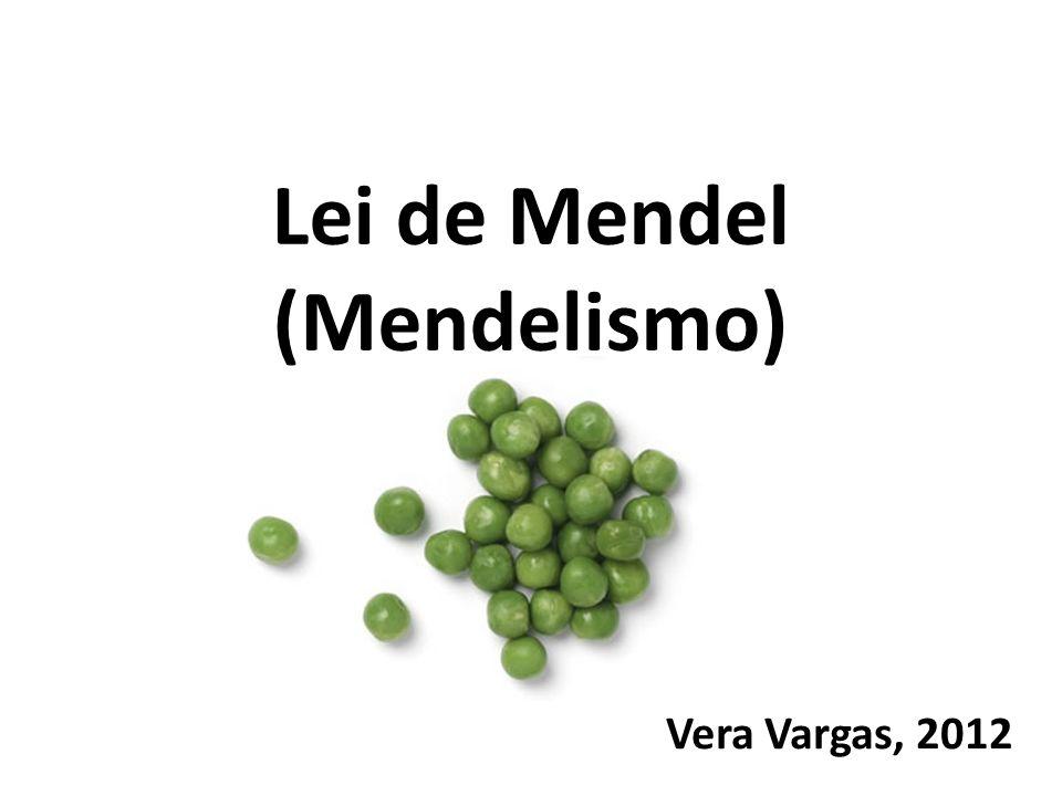Termos e expressões Mendel Por que ervilhas.