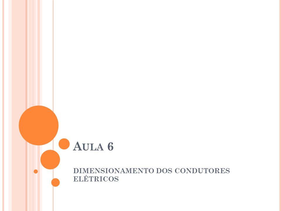 INSTALAÇÃO DE CONDUTORES EM ELETRODUTOS É um método de instalação em que os condutores são acomodados dentro de eletrodutos para proteger os condutores contra: Umidade Ácidos Choques Mecânicos