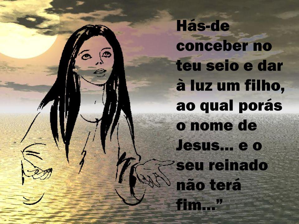 Maria disse então: Eis a escrava do Senhor, faça-se em mim segundo a tua palavra. (Lc 1)