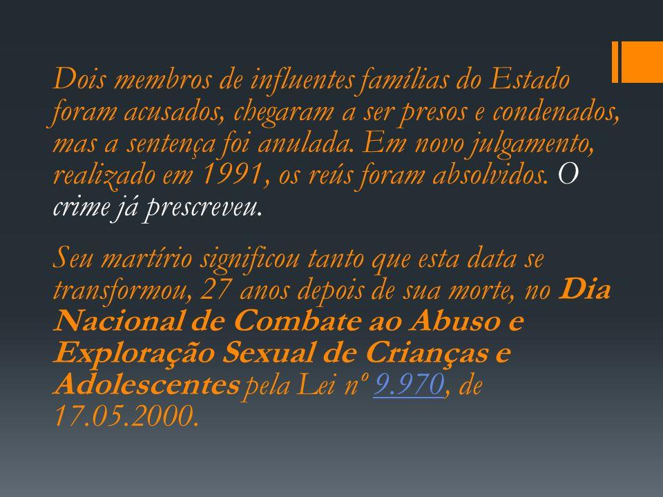 Violência Sexual É considerada um crime hediondo Qualquer relação sexual com criança ou adolescente com menos de 14 anos.