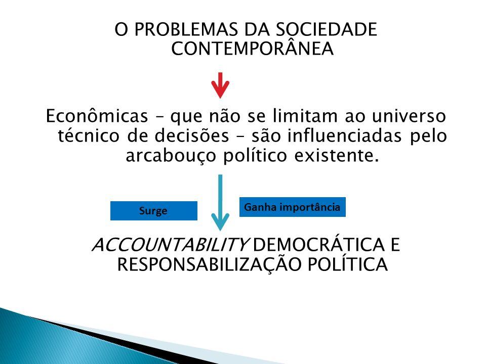 De forma geral é tratada: Controle de atos dos governantes em relação ao programa de governo; À corrupção; Á preservação de direitos fundamentais dos cidadãos.