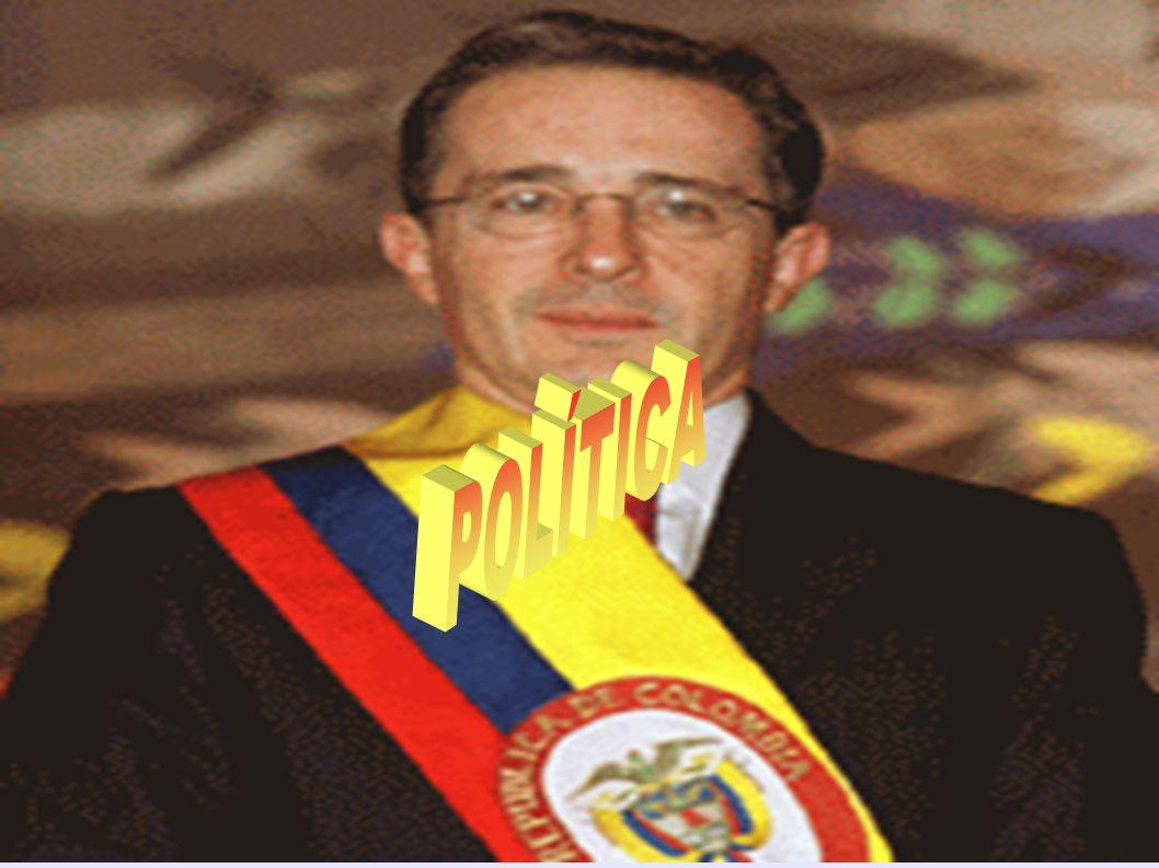 Política da Colômbias Política da Colômbia A Colômbia é uma república onde o poder executivo (presidência da República) domina a estrutura de governo.