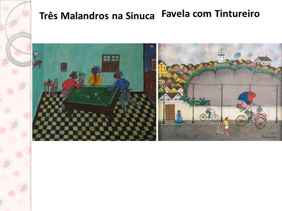 Três Malandros na Sinuca Favela com Tintureiro