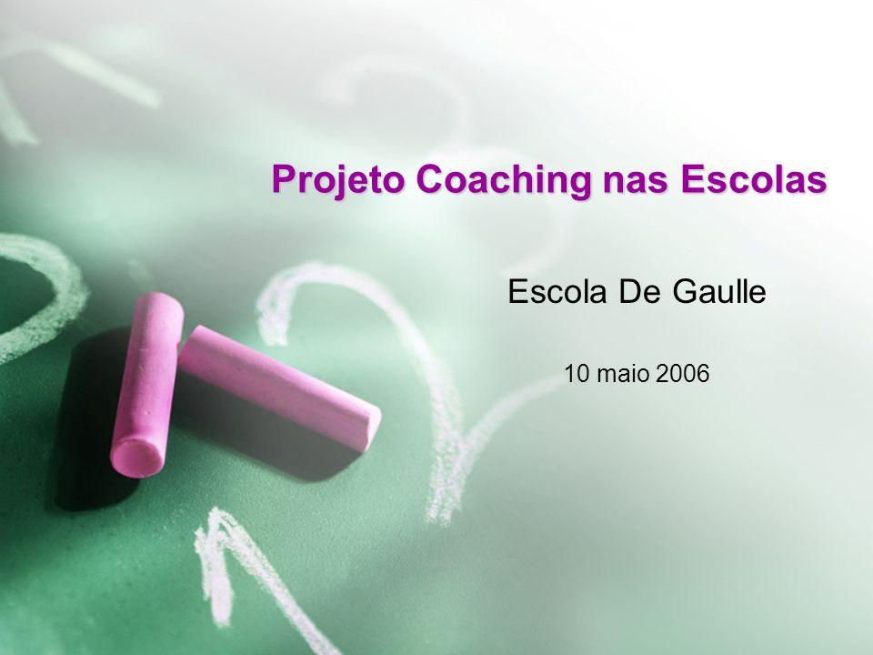 www.coachingnasescolas.org Objetivo Desenvolver pessoas nas escolas públicas para melhorar a qualidade do ensino básico gratuito no Brasil.