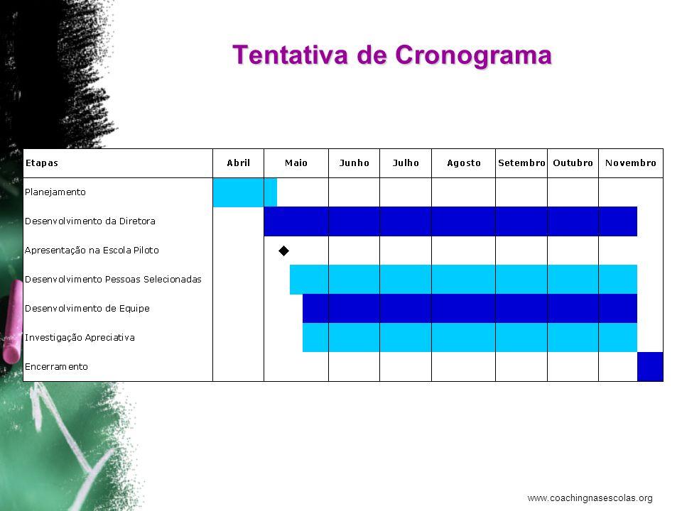 www.coachingnasescolas.org O Que Você Ganha com Isso Oportunidade de –Crescer –Realizar metas –Melhorar a escola