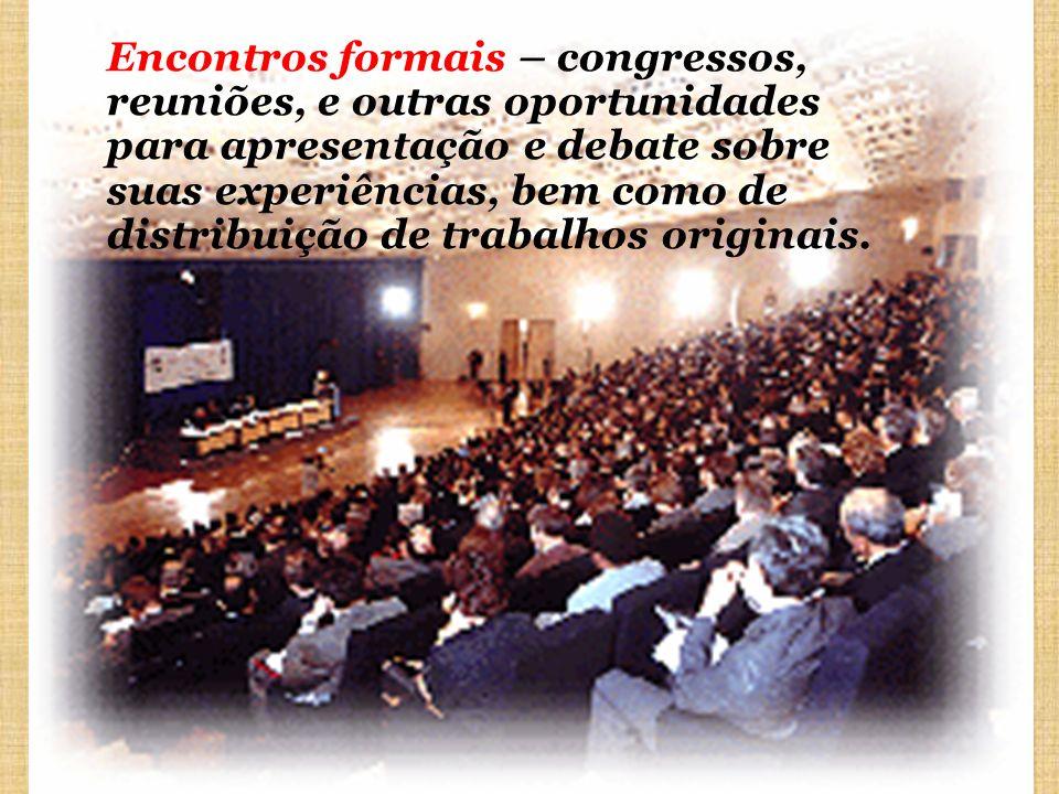 Comunicação com outros sistemas Os especialistas, as informações e a biblioteca.