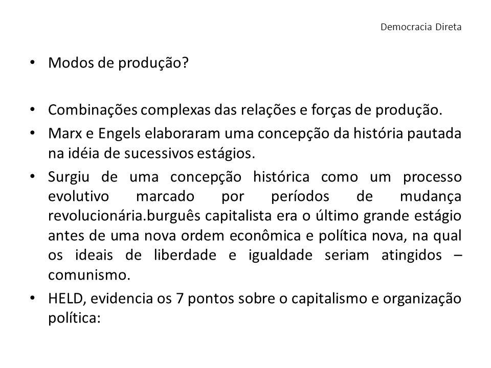 Teoria da Crise de Marx Marx determinou: 1- as crises são aspectos normais do desenvolvimento do capitalismo.